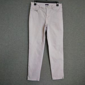 NYDJ Ankle Stretch Pants Sz 6 Gray